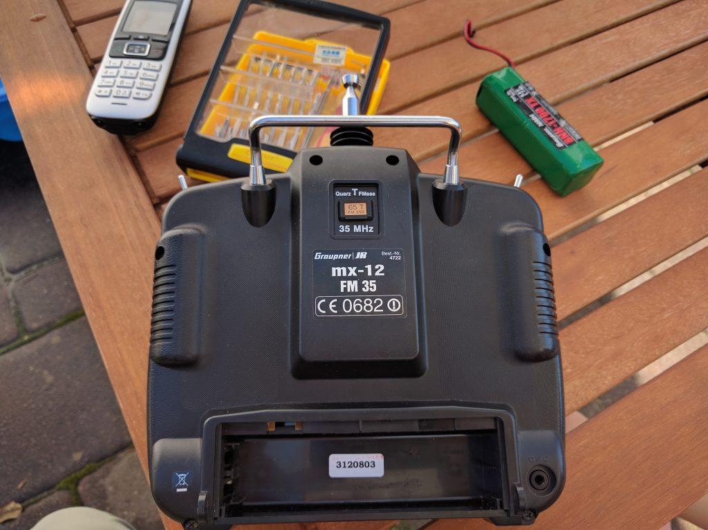 original 35 MHz MX-12